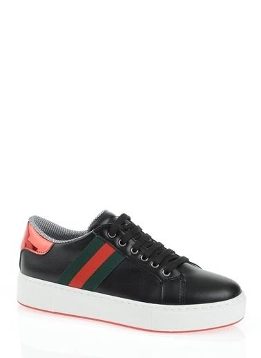 Derigo Derigo 6399 Şerit Kadın Casuel Ayakkabı Siyah